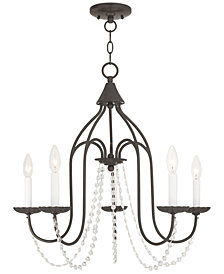 Livex Alessia 5-Light Chandelier