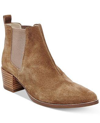 Steve Madden Women\'s Vanity Chelsea Booties - Boots - Shoes - Macy\'s