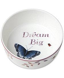 Lenox Butterfly Meadow Everyday Celebrations Dream Big Bowl