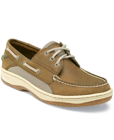 The authentic Sperry Top-Sider boat shoe has returned for easy casual pairings. In an array of fresh new colors, it features a genuine leather upper, stylish comfort and all the details that made it .