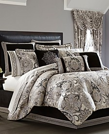 J. Queen 4-Pc. New York Giuliana King 4-Pc. Comforter Set