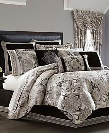 J. Queen 4-Pc. New York Giuliana King 4-Pc. Comforter Set
