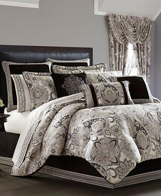 J Queen 4 Pc New York Giuliana King 4 Pc Comforter Set