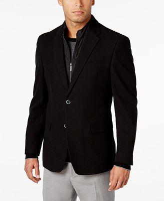 Tommy Hilfiger Men's Slim-Fit Sport Coat with Removable Vest ...