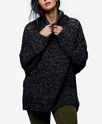Free People She's All That Funnel-Neck Sweater