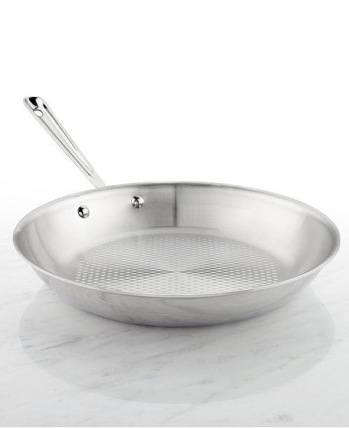 All Clad D3 Armor Stainless Steel 12 Quot Fry Pan Amp Reviews