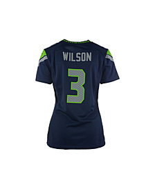 Nike Women's Russell Wilson Seattle Seahawks Game Jersey