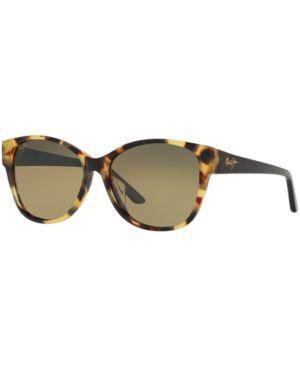 Summer Time 54Mm Polarizedplus2 Cat Eye Sunglasses - Tokyo Tortoise/ Hcl Bronze, Tortoise/Bronze Gradient Polar