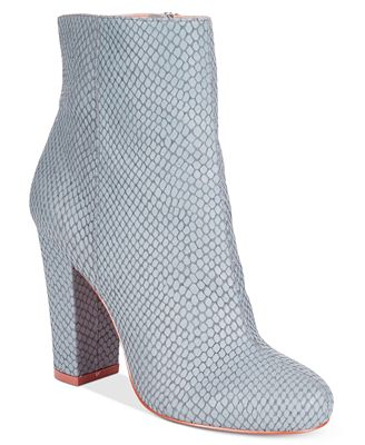 CHARLES by Charles David Lowell Block-Heel Booties