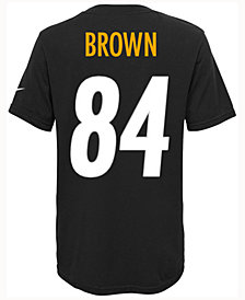 Nike Antonio Brown Pittsburgh Steelers Pride Player T-Shirt, Big Boys (8-20)