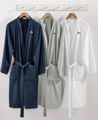 Image of Lacoste Home Pique Bath Robe