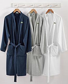 Lacoste Home Pique Bath Robe