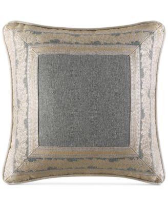 """J. Queen New York Rialto 18"""" Square Decorative Pillow"""