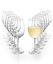 12-Pc. White Wine Glasses Set, Created for Macy's