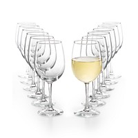 Martha Stewart Essentials 12-Pc. White Wine Glasses Set