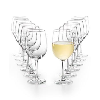 12-Piece Martha Stewart Essentials White Wine Glasses Set