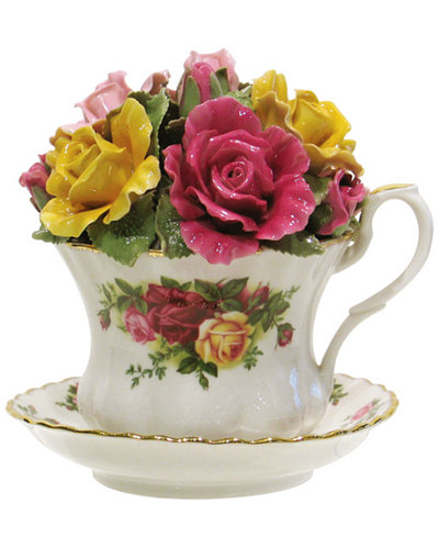 Royal Albert Old Country Roses Musical Tea Cup Fine
