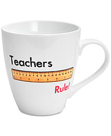 Pfaltzgraff Teachers Rule Mug