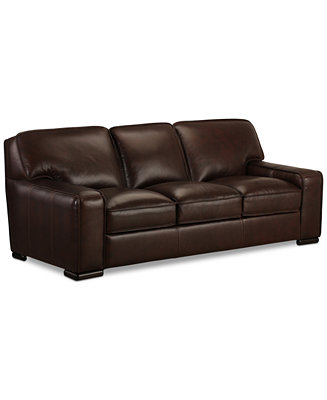 Furniture Closeout Kassidy 93 Quot Leather Sofa Furniture