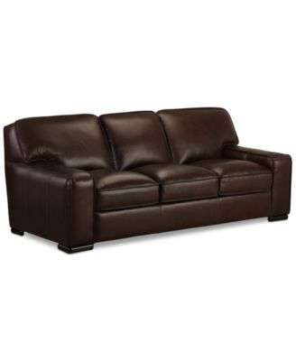 Kassidy Leather Sofa  sc 1 st  Macyu0027s : flexsteel leather sectional - Sectionals, Sofas & Couches