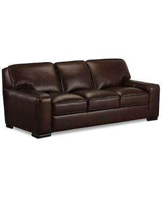 Kassidy Leather Sofa Furniture Macys