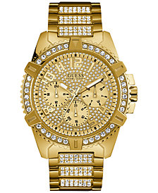 Gold Tone Stainless Steel Guess Watches Macy S