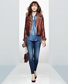 WILLIAM RAST Moto Jacket, Denim Shirt & Skinny Jeans