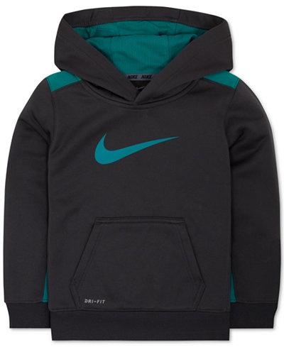 Nike Little Boys' Swoosh Therma-FIT Hoodie