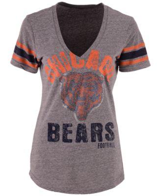 Women's Chicago Bears Any Sunday Rhinestone T-Shirt