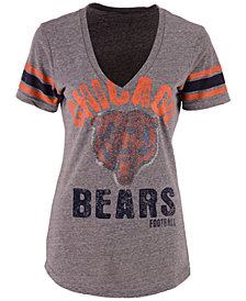 G-III Sports Women's Chicago Bears Any Sunday Rhinestone T-Shirt