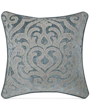 "J. Queen New York Sicily Teal 20"" Square Deocrative Pillow Bedding 2889442"