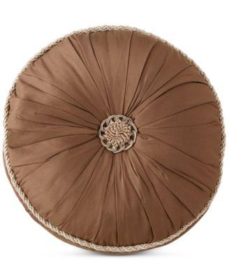 "CLOSEOUT! Astor 14"" Round Decorative Pillow"