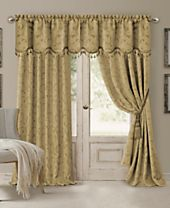 Elrene Mia Blackout Panel and Scalloped Valance Collection