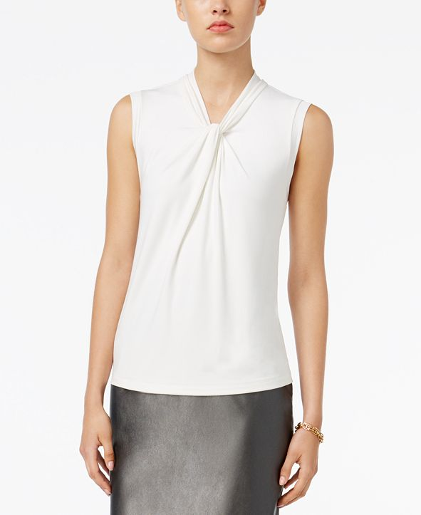 Tommy Hilfiger Knot-Neck Top