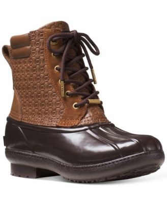 MICHAEL Michael Kors Easton Lace-Up Booties
