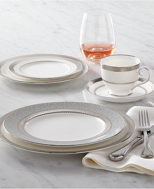 Noritake Dinnerware, Odessa Platinum Collection