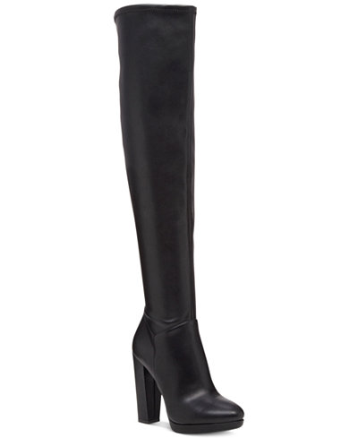 Jessica Simpson Grandie Over-The-Knee Stretch Boots