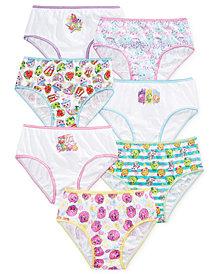 Shopkins Underwear, 7-Pack Little Girls & Big Girls