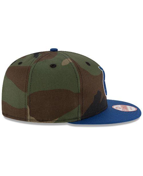b43707d5ce1f7 New Era Indianapolis Colts Camo Two Tone 9FIFTY Snapback Cap ...