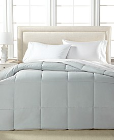 Lightweight Microfiber Color Down Alternative Twin Comforter, Hypoallergenic Polyester Fiberfill