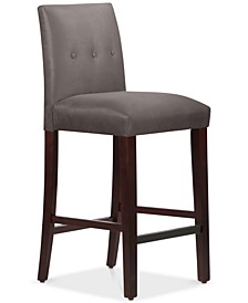 Mirrell Tapered Bar Stool with Buttons