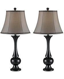 Kenroy Home Abbott 2-Pc. Table Lamp Set
