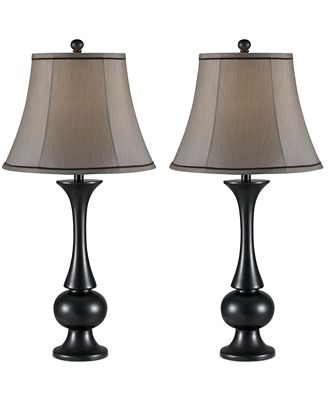 Kenroy Home Abbott 2-Pc. Table Lamp Set