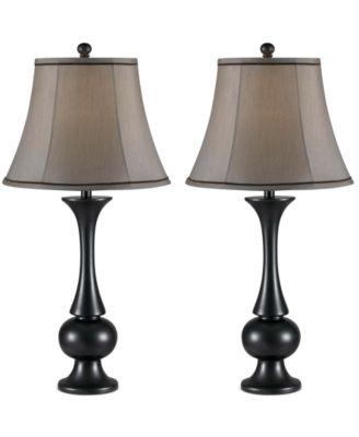 Kenroy Home Abbott 2 Pc. Table Lamp Set