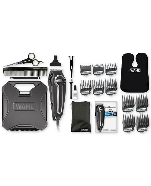Wahl 79602 Elite Pro Trimmer Haircut Kit Personal Care Bed