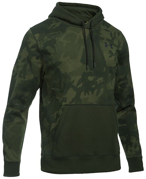detailing 03dd3 79189 Under Armour Men s Rival Camo Hoodie
