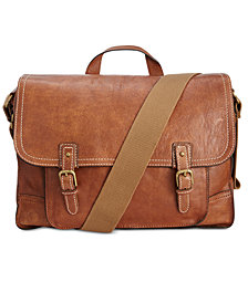 Nash Men's Tuscan Leather Messenger