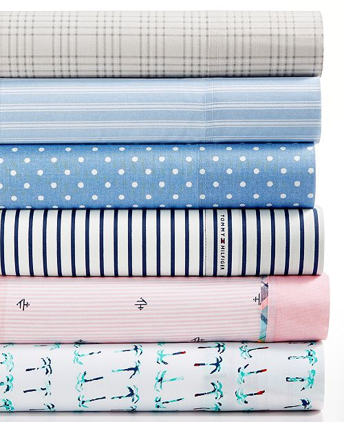 Tommy Hilfiger Novelty Print Queen Sheet Set