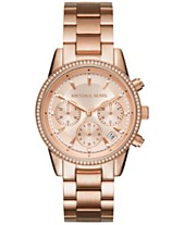 a81f1a8c3556 Michael Kors Women s Chronograph Ritz Stainless Steel Bracelet Watch 37mm  MK6428 MK6357 MK6356