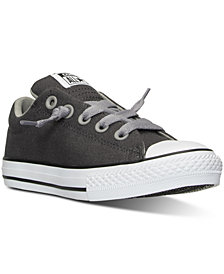 Converse Boys' Chuck Taylor All Star Street Ox Casual Sneakers from Finish Line